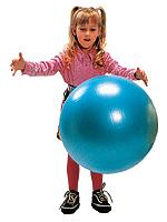 子供の成長とバランスボール