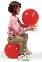 バランスボールが作る姿勢